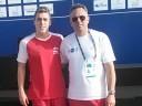 Miloš i trener Jović