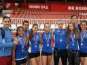 AK Panonija na prvenstvu Vojvodine