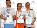 Badminton: Pobednice do 15 godine
