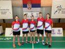 Badminton učenici