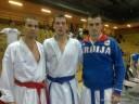 Karate: Bitević, Jovanović, Gordić