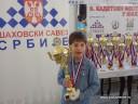 Marko prvi na prvenstvu Srbije