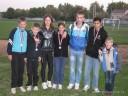 Mladi atletičari Dinama