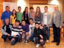 Mladi sportisti na pripemama sa Milicom Mandić