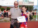 Sanja Marić sa trenerom