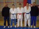 Seniori i treneri Karate kluba Dinamo
