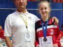 Sofija Stefanović sa trenerom