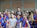 Vanja Udovičić i male odbojkasice