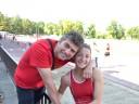 Zorana sa trenerom